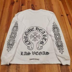 Chrome Hearts Las Vegas Horseshoe Longsleeve Tee